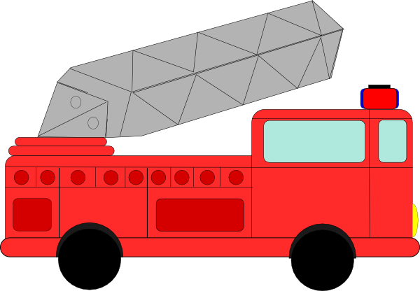 graphic royalty free stock Fire engine clip art. Firetruck drawing