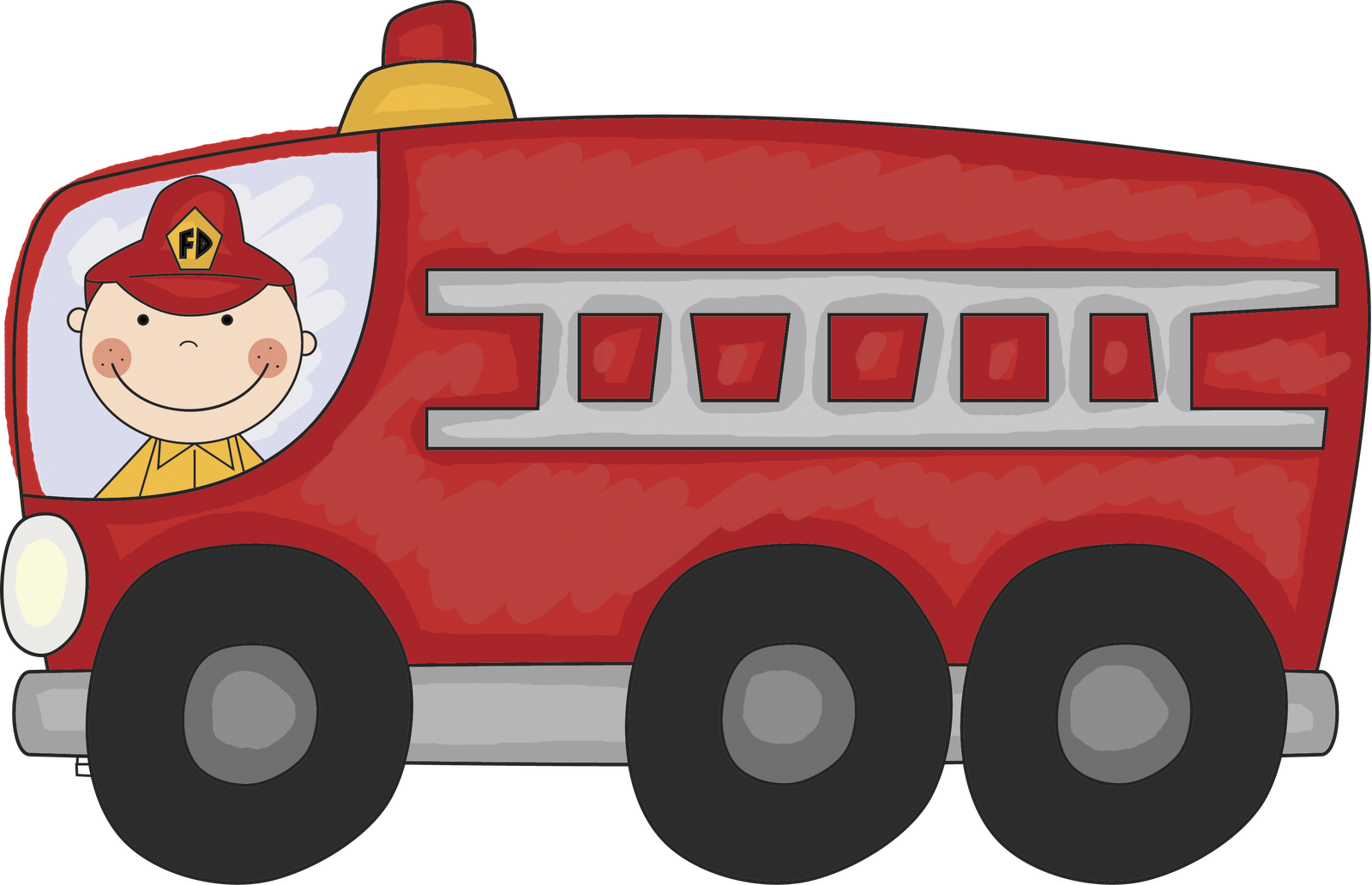 jpg royalty free stock Fire engine free . Firetruck clipart printable.