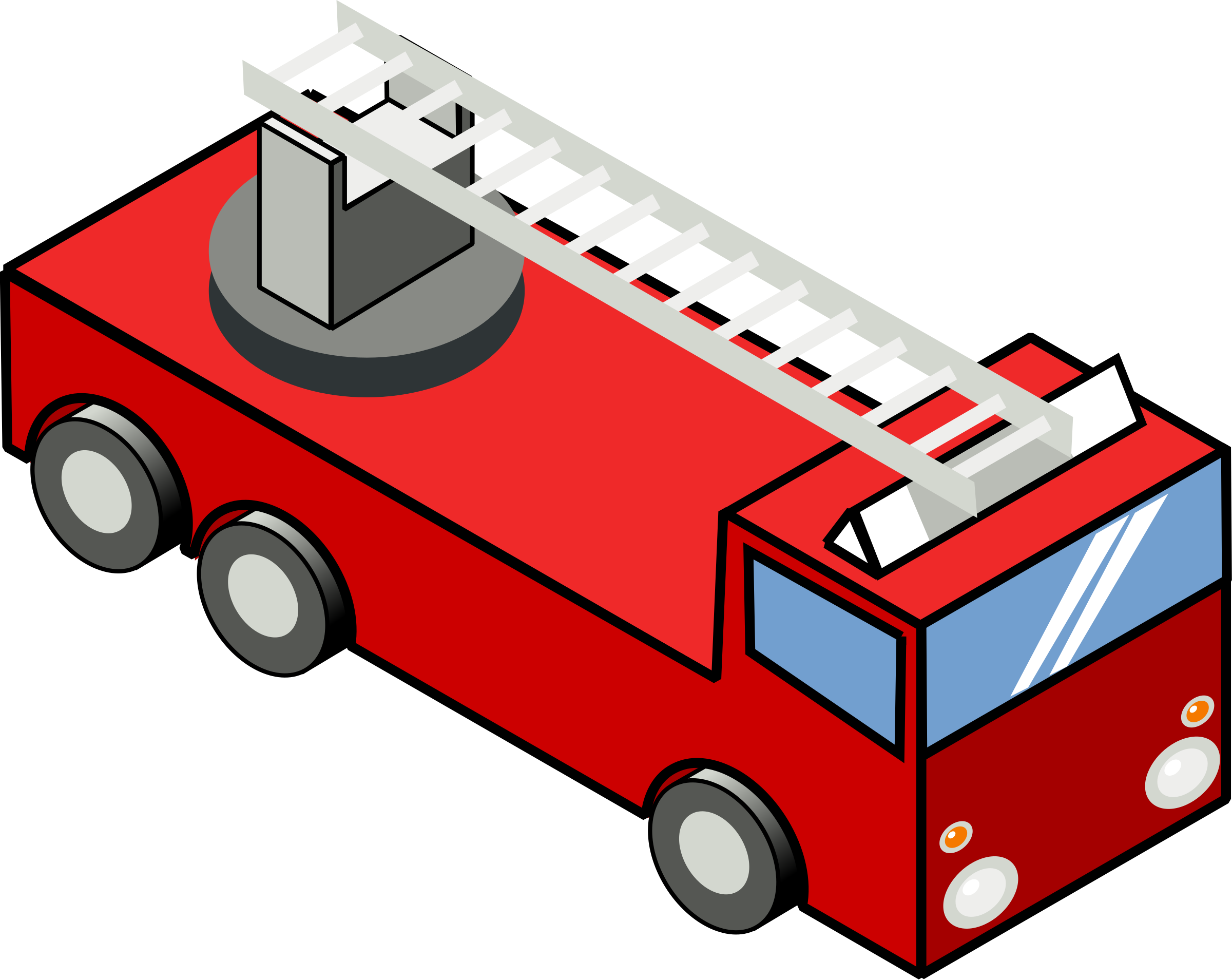 png library download Iso engine big image. Fire truck ladder clipart.