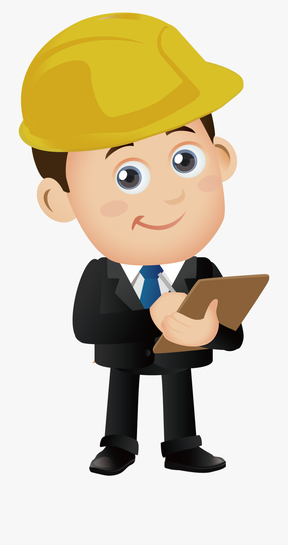 svg stock Engineer clipart. Computer job png .