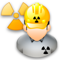 svg black and white download Engineering clipart. Nuclear free on