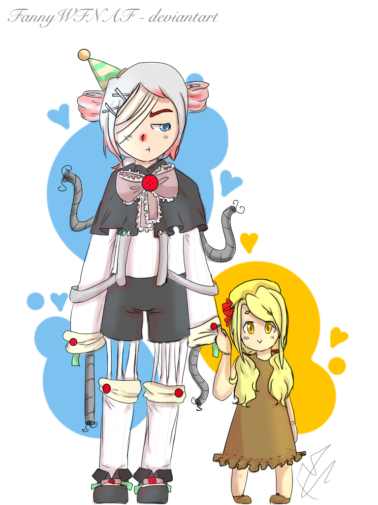 graphic library library Ennard x Exotic Butters by FannWege on DeviantArt