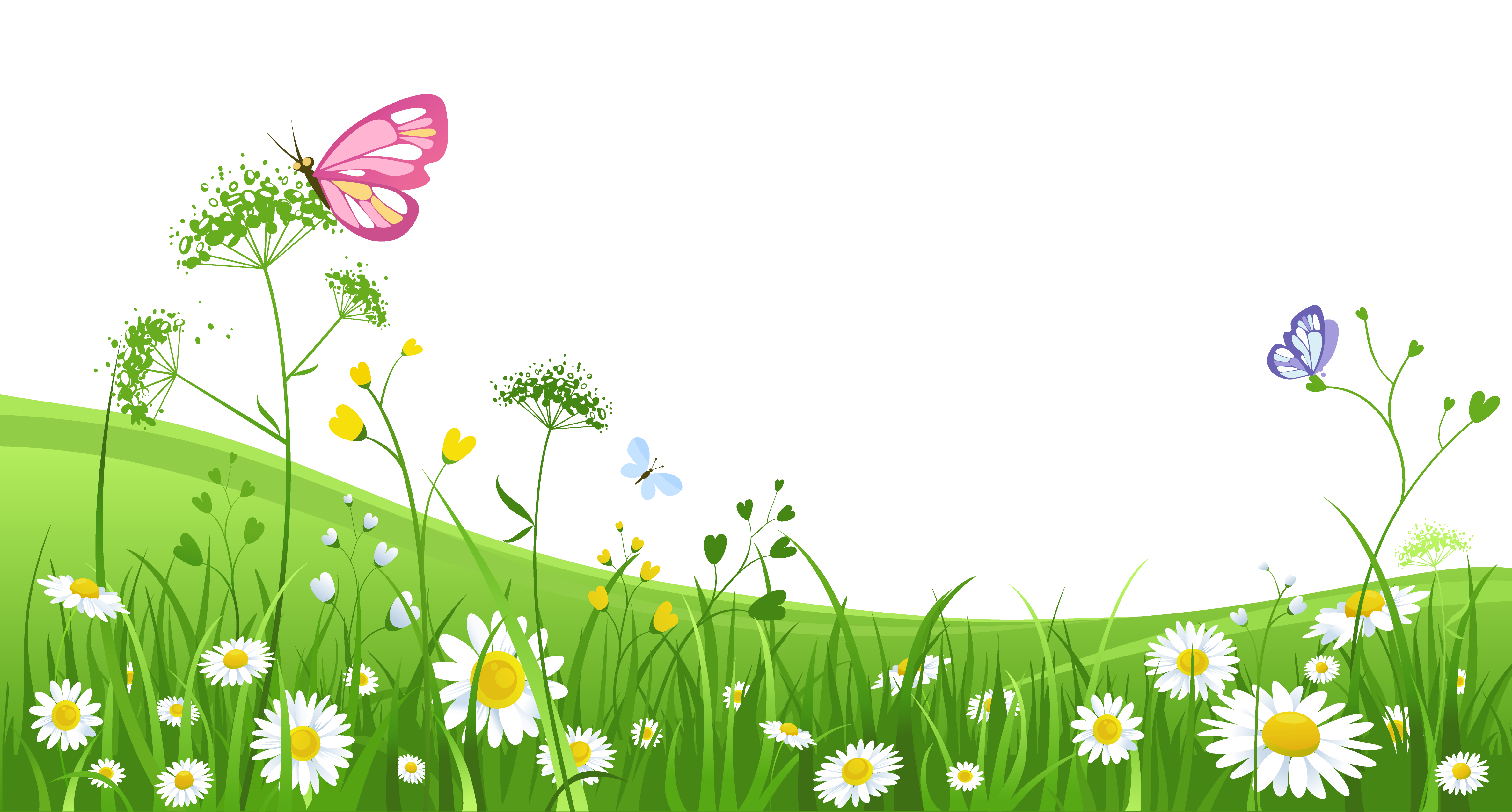 clip art free download  collection of transparent. Garden background clipart