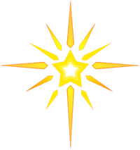 clipart free stock Epiphany clipart christmas. Religious star merry and