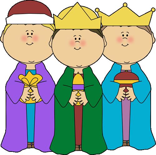 svg stock Three Wise Men Clip Art