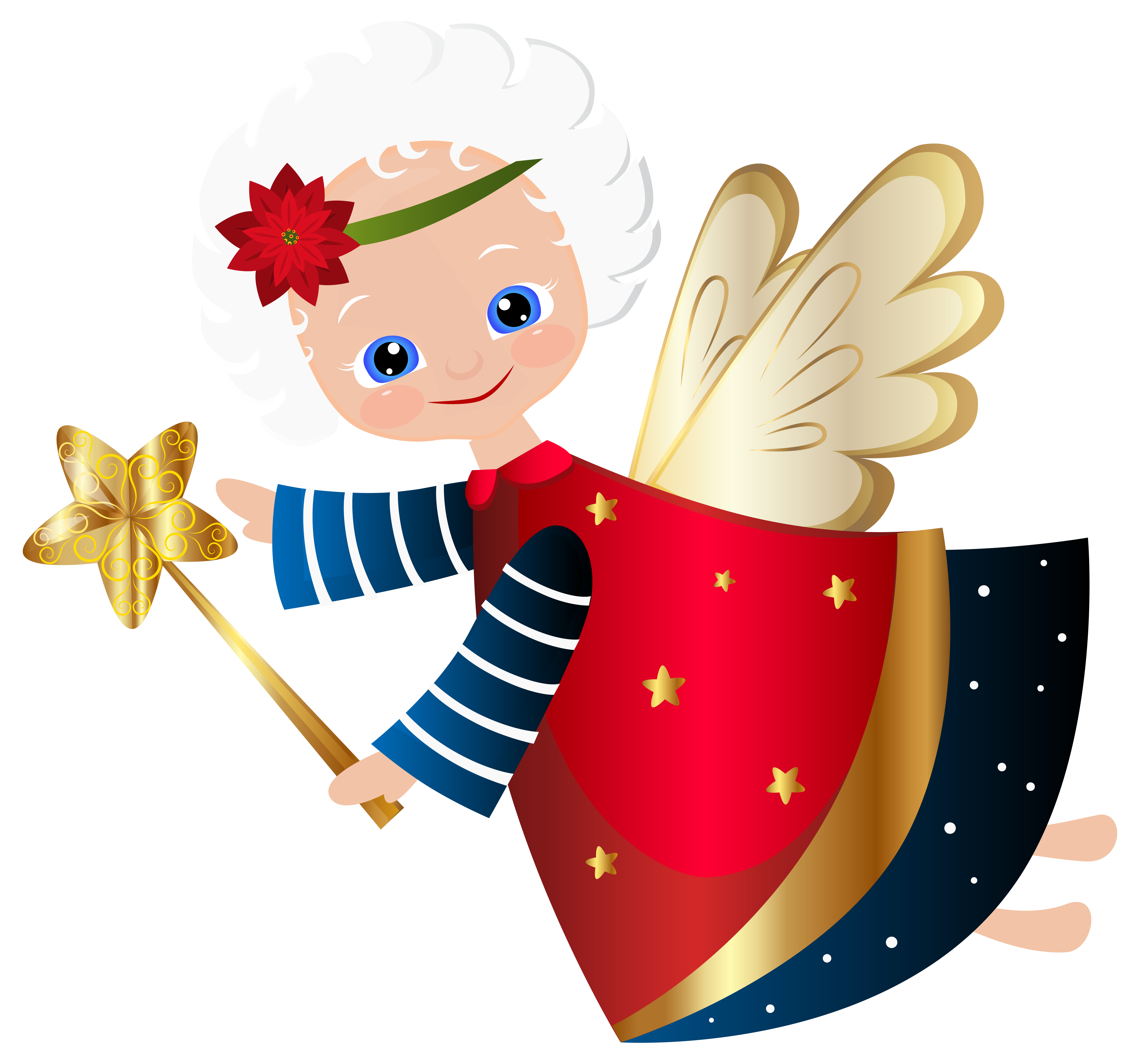 svg Cute Christmas Angel Transparent PNG Clip Art Image