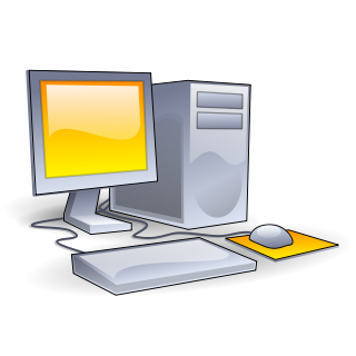 clip art transparent stock Personal computers information literacy. Vector computer 80's