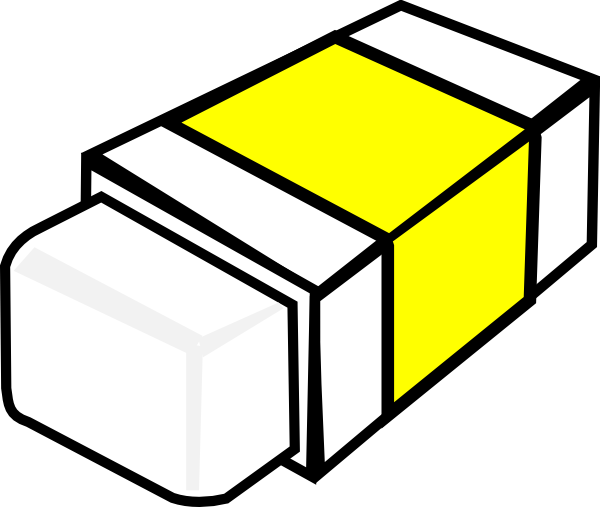 svg library download Eraser clipart. Clip art at clker.