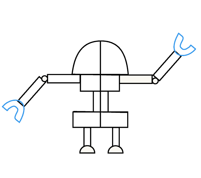 svg black and white download How to Draw a Robot