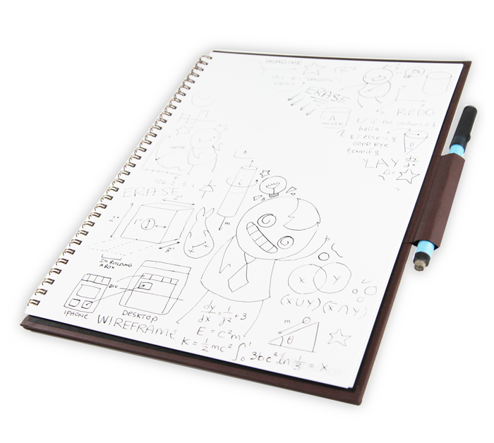 picture Wipebook Reusable Whiteboard Notebooks
