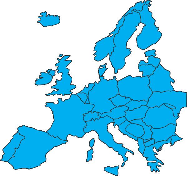 jpg transparent Map of clip art. Europe clipart