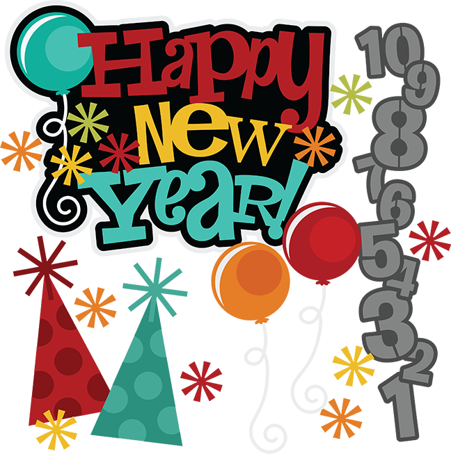 picture free Years clipart school. Happy new year svg