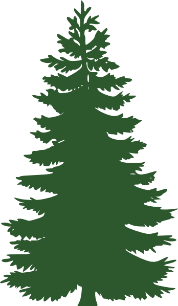 royalty free Free . Evergreen clipart.