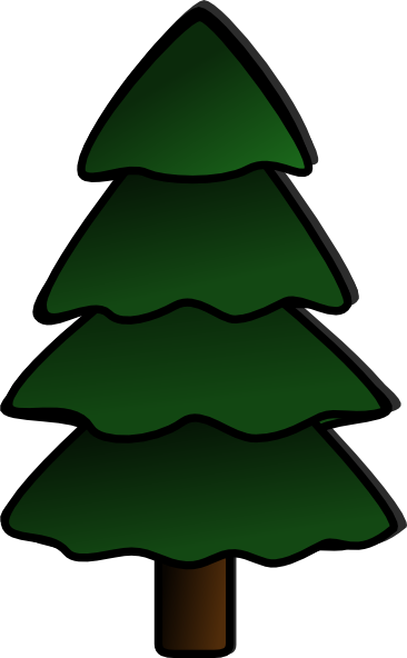 clip art freeuse stock Pine Tree Clipart Group