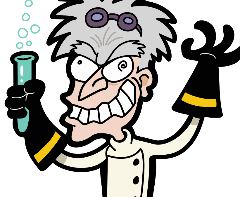 jpg freeuse library How to catch a. Mad scientist lab clipart