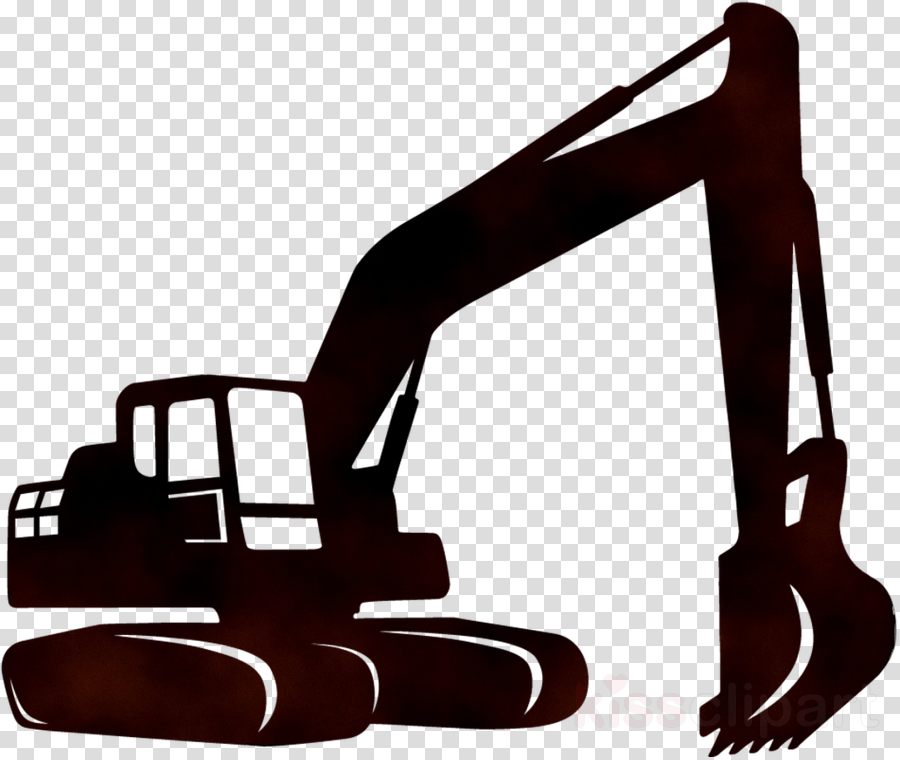 graphic library Construction heavy machinery . Excavator clipart