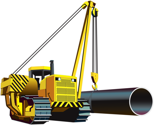 jpg royalty free stock Excavator clipart side boom