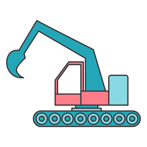 vector free library Excavator transparent PNG or SVG to Download
