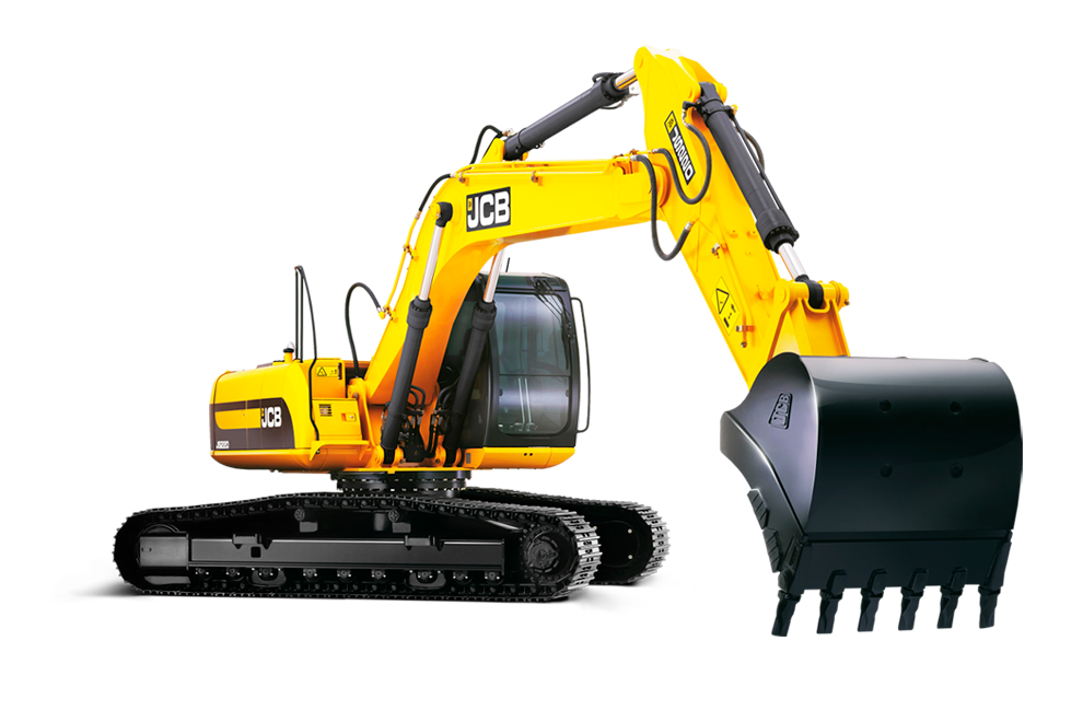 graphic black and white stock Excavator PNG Image