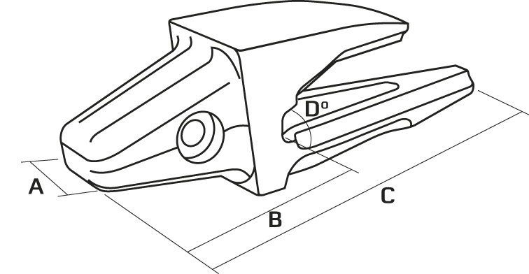 clipart black and white library Excavator drawing side view. Cat weld on adapters