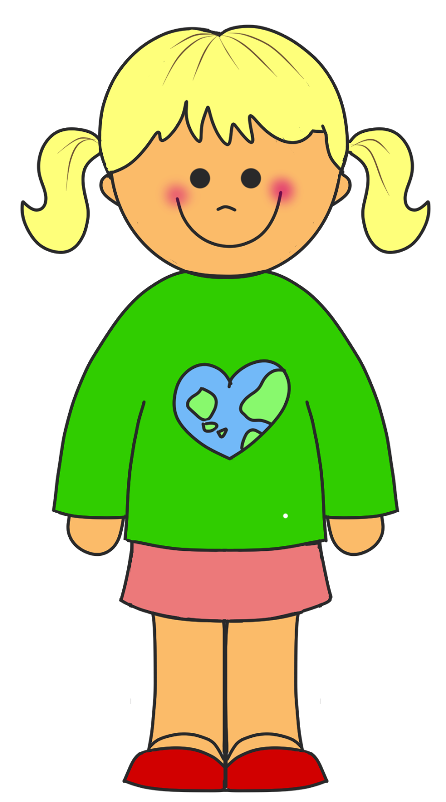 png transparent stock Writer clipart little girl student. Girls educasong free earth