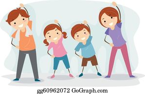 vector royalty free stock Clip art royalty free. Movement clipart baby exercise.
