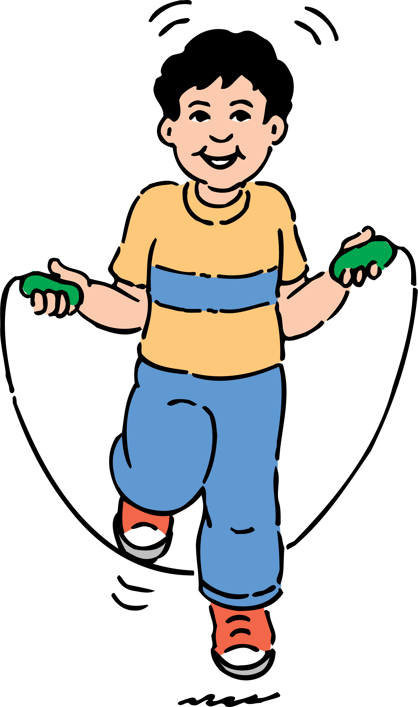 clip freeuse Jumping clipart 1 kid. Rope big image png