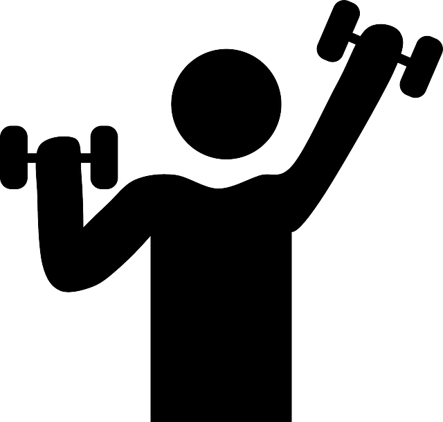 vector Fitness toughness free on. Exercising clipart