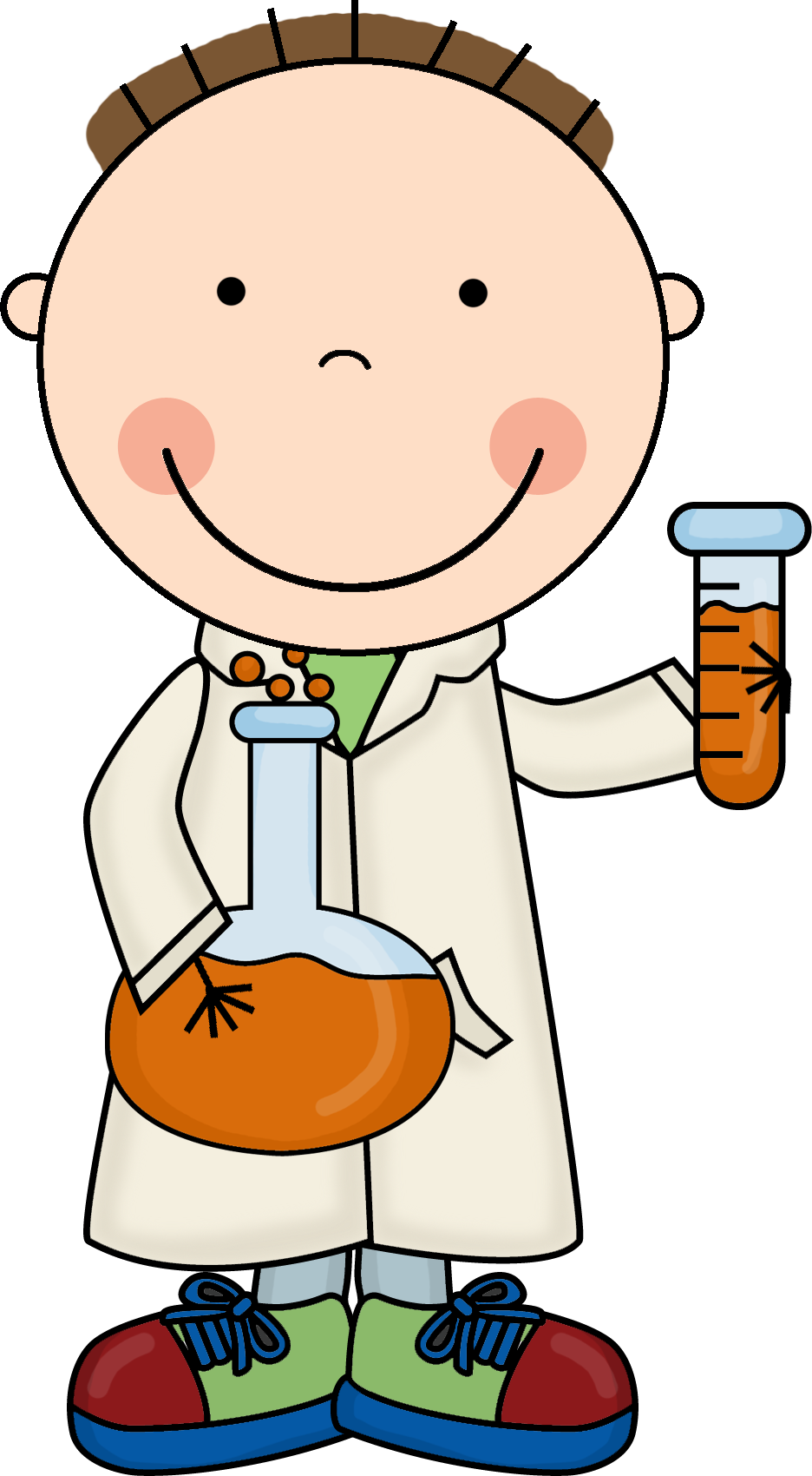 image transparent stock Kid scientist clipart. Index of images scrappin