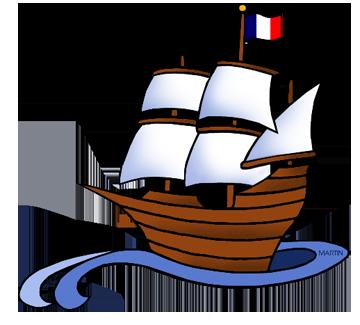 jpg black and white stock Sailing Ship Clipart math