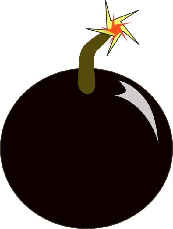 png black and white Bomb Nuclear weapon Explosion Cartoon free commercial clipart