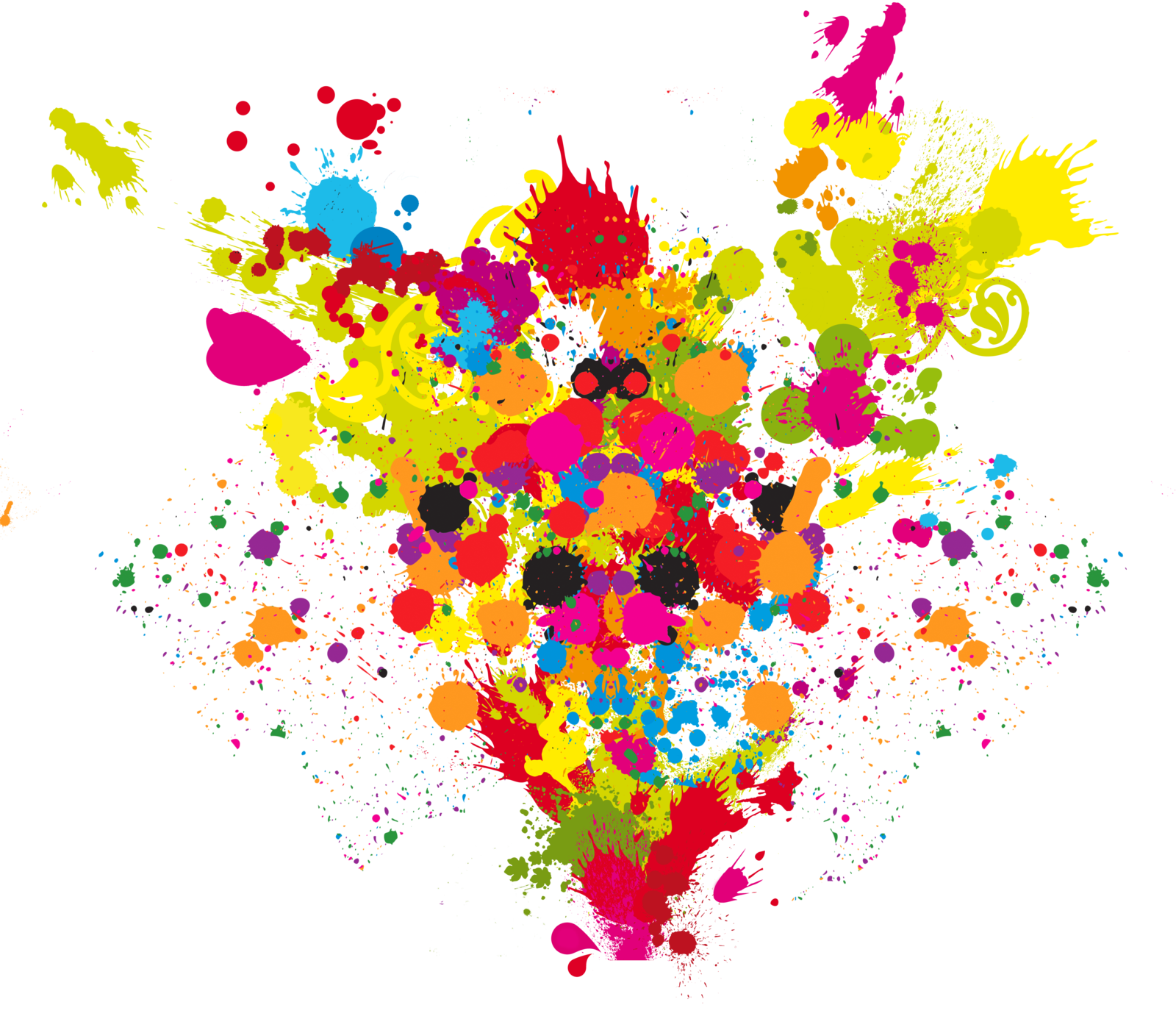 royalty free Vector color full.  blast colorful for