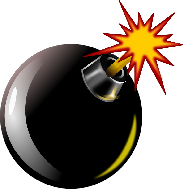 clip art royalty free Collection of free Bomb drawing clip art