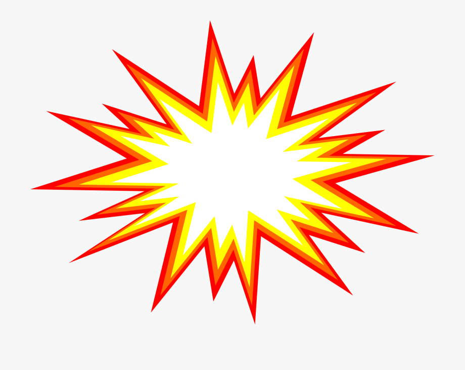 svg royalty free download Star starburst transparent background. Explosion clipart.