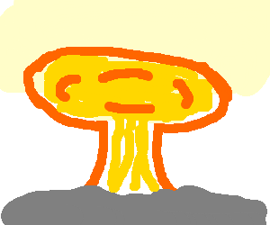 png free library Explosion drawing at getdrawings. Nuke clipart tnt bomb