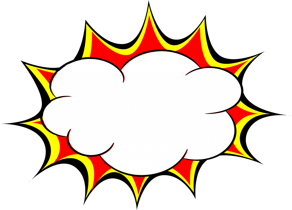 image library library Vector bubble graphic novel. Explosion png images transparent