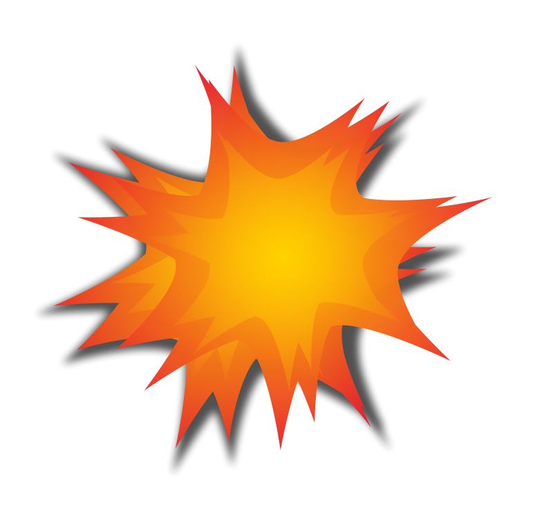 freeuse Explosion Clipart