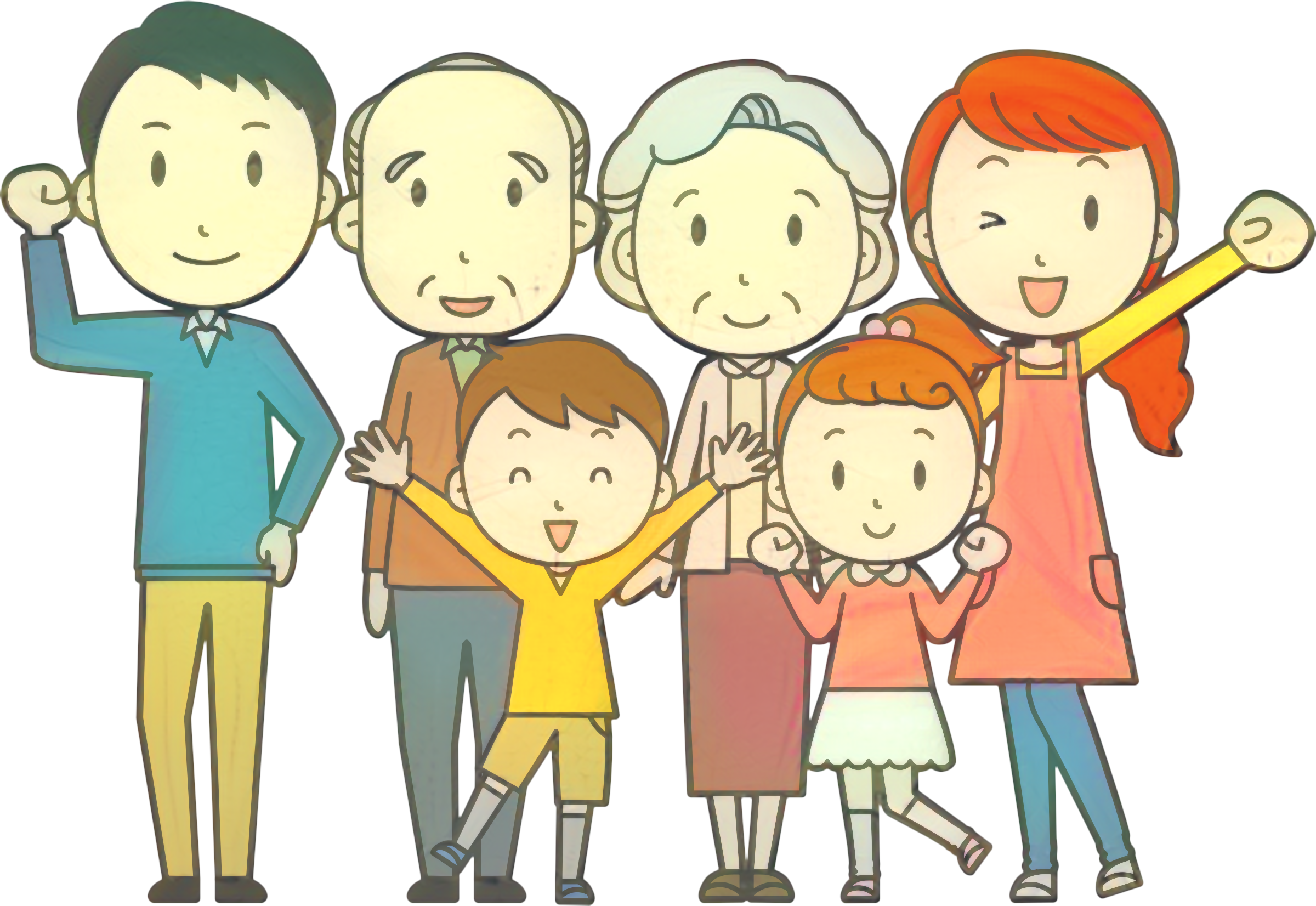 svg freeuse library Extended clipart complete family. Vector graphics clip art