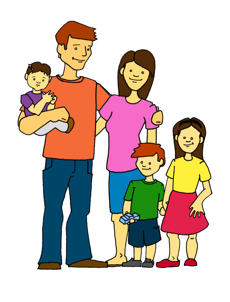 stock  collection of happy. Grandparent clipart extended family