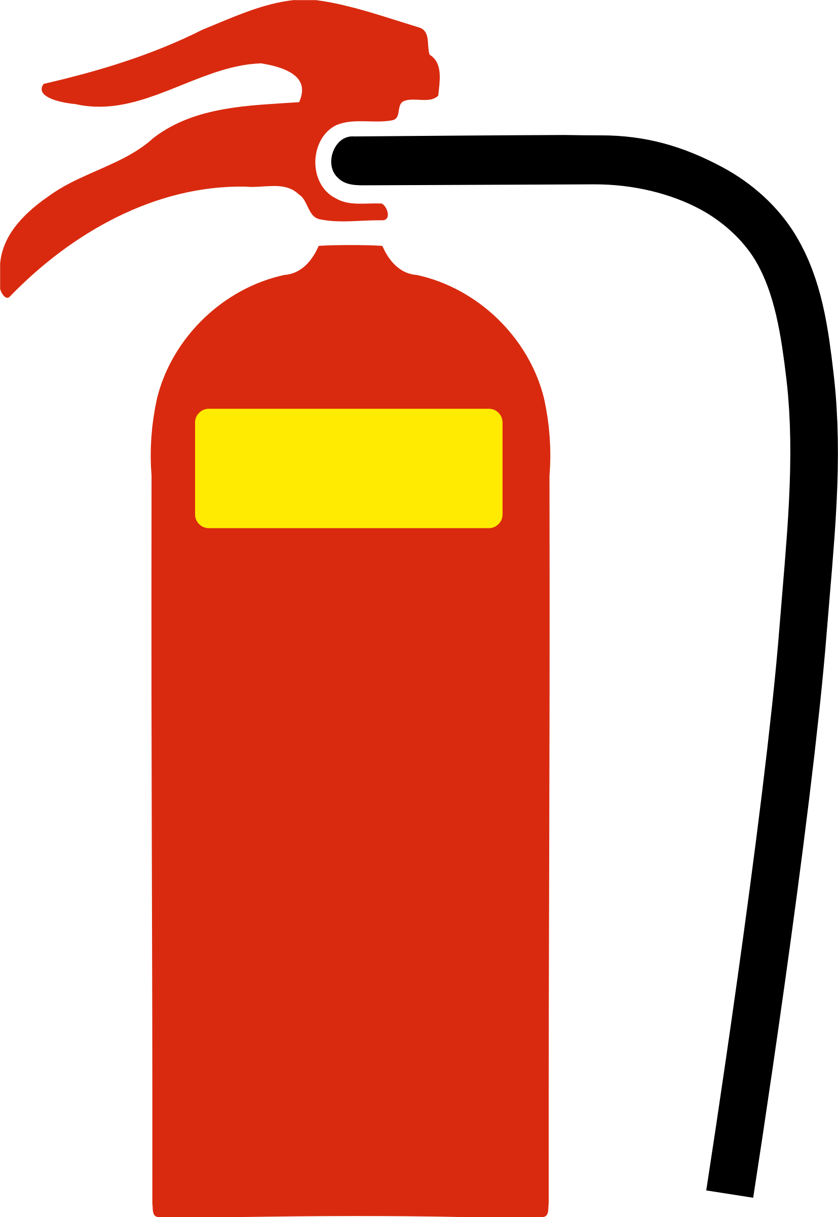 jpg free stock Wet clipart. Fire extinguisher chemical big.