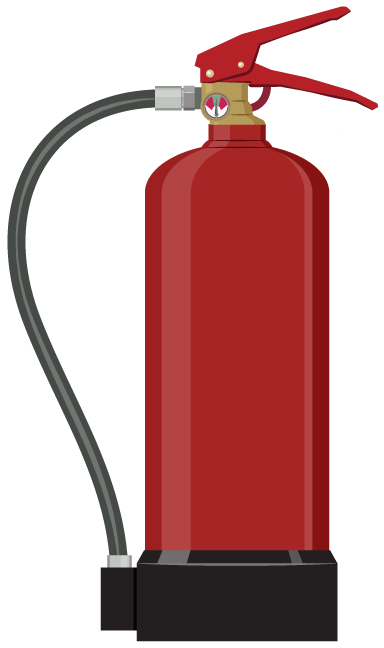 freeuse download  collection of high. Extinguisher clipart.