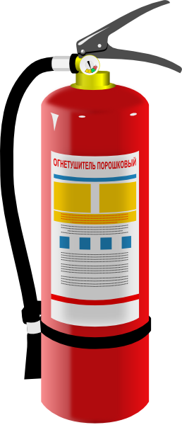 graphic transparent stock Fire Extinguisher Cartoon