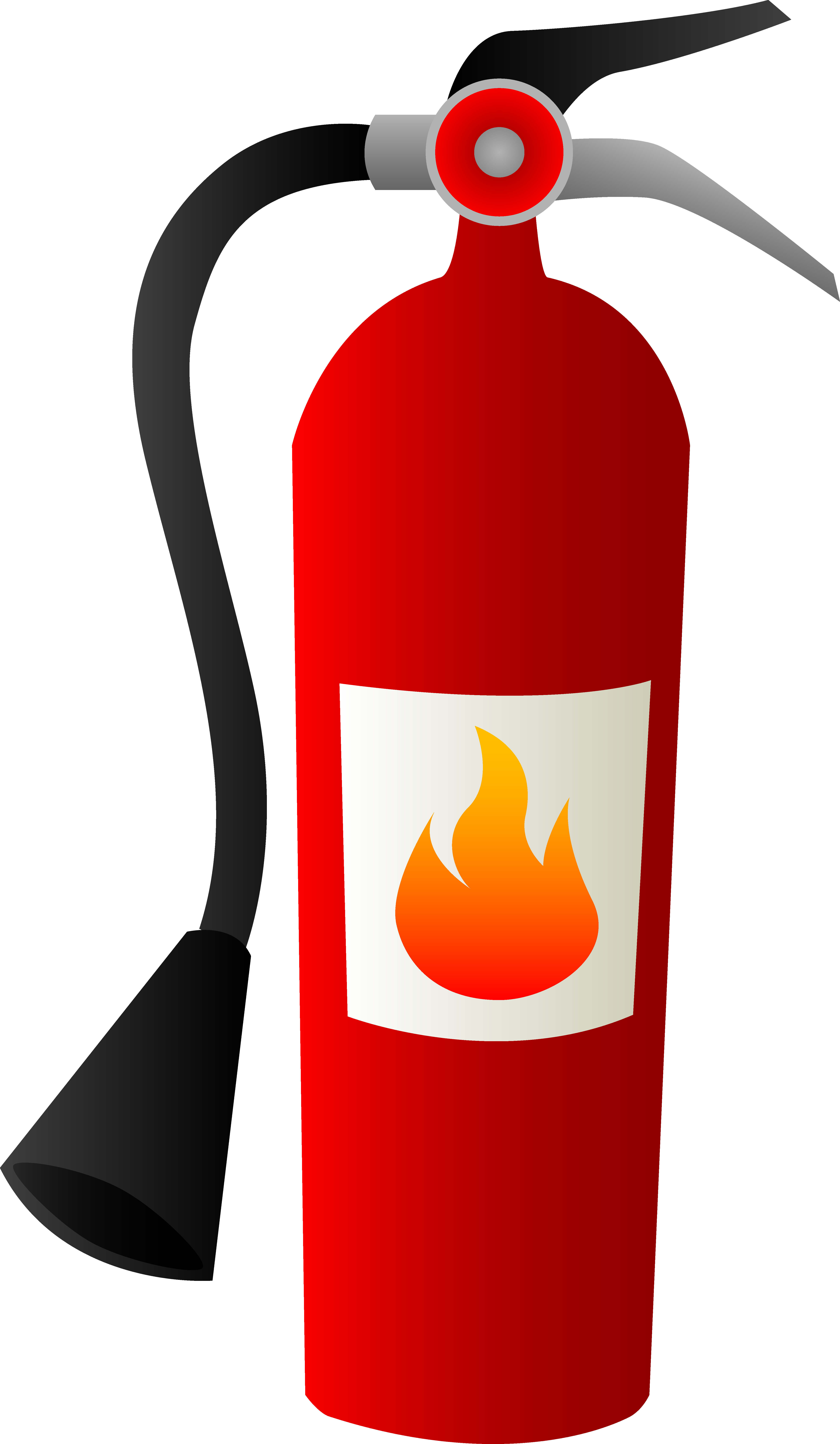 banner freeuse stock Clipart kitchen. Fire extinguisher drawing at
