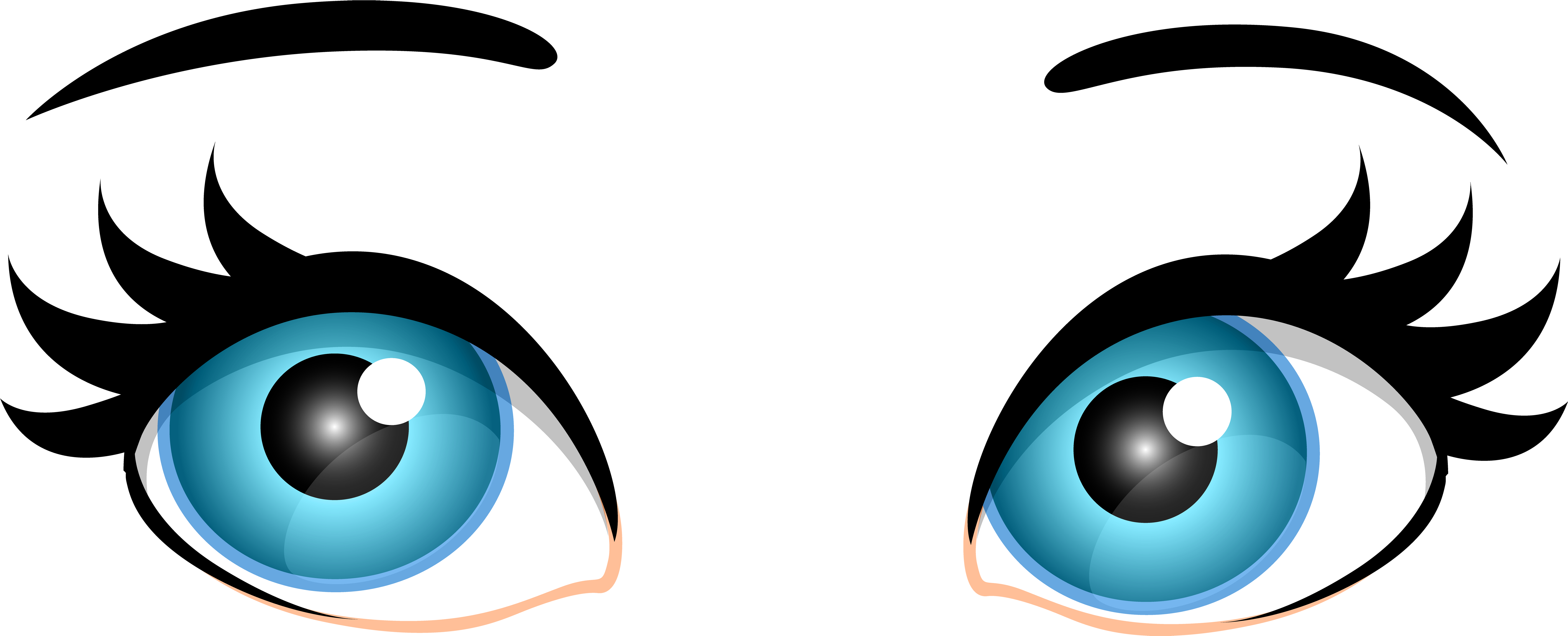 vector library library Of audio eyes and. Eye clipart
