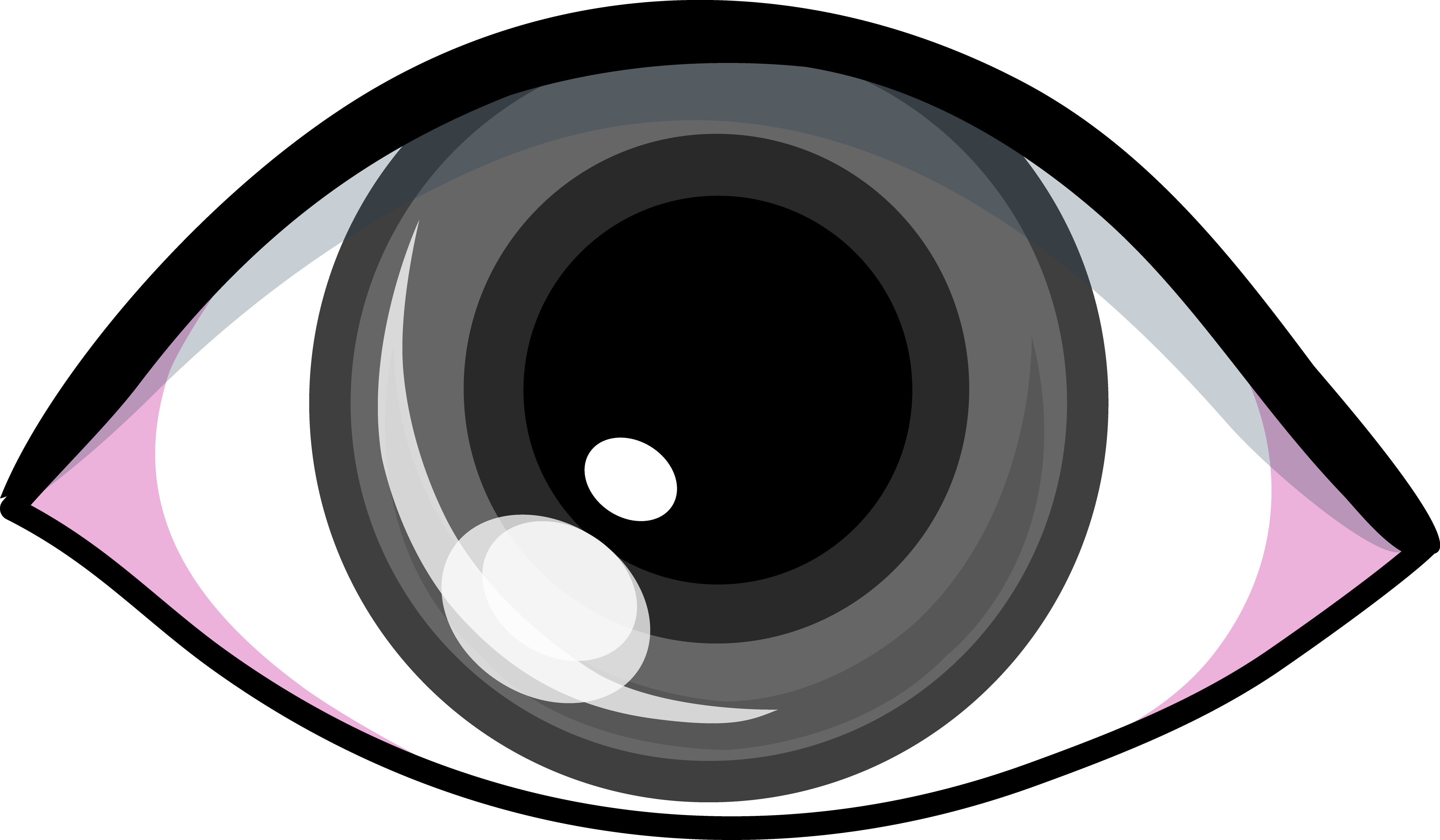 png transparent stock Eye clipart. Grey clip art design