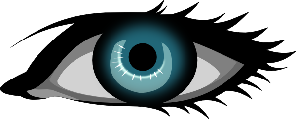 picture freeuse Eye clipart. Blue clip art at