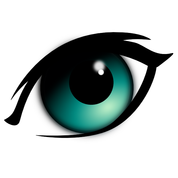 banner royalty free animated eyes