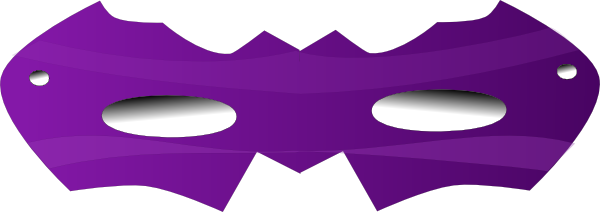 picture free download Purple Eye Mask Clip Art at Clker