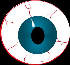 freeuse download Bloodshot Eyeball Clipart