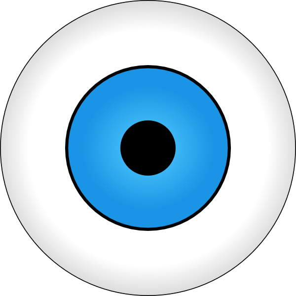 graphic transparent stock Tonlima Olho Azul Blue Eye Clip Art at Clker